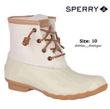 Sperry Women's Saltwater Metallic Duck Boot, Size: 10