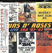 Guns N' Roses   Live Era '87-'93 2 CD ALBUM JAPON NEUF MINT Super High Material