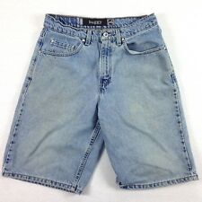 VTG LEVIs SilverTab Baggy Jeans Shorts Mens actual size 29 USA Made Skate HipHop