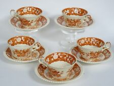 LOT of 5 COPELAND SPODE MADRID OVERSIZED CUP & SAUCER