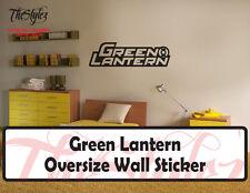 Green Lantern Oversize Wall Vinyl Sticker