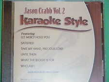 Jason Crabb~#2 ~ Christian~Daywind~Karaoke Style ~~ What the Blood is For ~ CD+G
