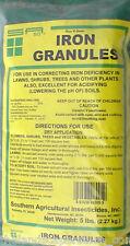 Southern Ag Iron Granules 5 lb. 30% Ferrous Sulfate