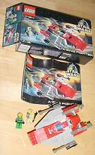 LEGO 7134 STAR WARS A-WING FIGHTER COMPLETE - OPENED BOX - WITH INSTRUCTIONS