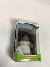 Sylvanian Families doll hedgehog mother, Brand New In Box. Japan Release.