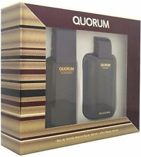 Antonio Puig Quorum Men's Gift Set 1 ea (Pack of 3)
