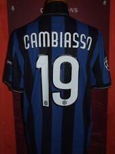 CAMBIASSO INTER 2009/2010 MAGLIA SHIRT CALCIO FOOTBALL MAILLOT JERSEY SOCCER