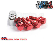 03-08 Open Ended Locking Wheel Nuts 12x1.25 Bolts for Infiniti FX35 Mk1