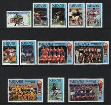 OPC 1986 Nevis Specimen Mexico World Cup Championship Set Sc#477-488 MNH