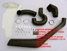 Nissan Navara D22 (pour s'adapter) 2001 - 2006/Tuba/Raised Air Intake VC34NI0201