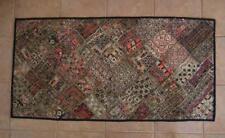 Antique Indian Banjara Embroidered Patchwork Tapestry India Rajasthan Gujarat