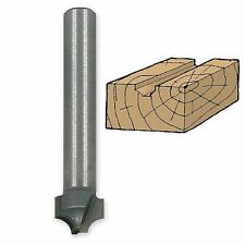 "Ivy Classic 1/8"" Plunge Beading Router Bit, C2 Carbide, Diamond-Honed, 1/4 Shank"