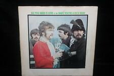 Beatles All You Need Is Love/Baby, Your A Rich Man 45  w/Pic Sleeve 1967 Import