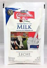 Nestle Carnation Instant Nonfat Dry Milk 3.2 oz packet Leche