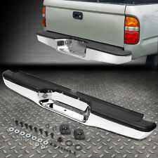 For 95 04 Toyota Tacoma Chrome Trim Steel Rear Step Bumper Face Bar Assembly Fits 1998 Tacoma