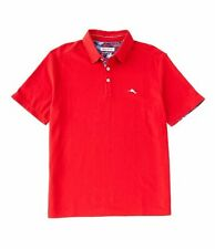 NWT Tommy Bahama Men's SZ Small  Limited Edition 5 O'Clock Polo Shirt Red