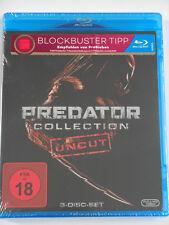 Predator Collection Uncut Sammlung - Schwarzenegger, Predators 1, 2, 3 - Brody
