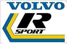 Volvo R sport decal 360 340 142 242 rare rallycross