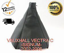 VAUXHALL VECTRA C/SIGNUM 2002-2006 GENUINE LEATHER GEAR GAITER / COVER NEW