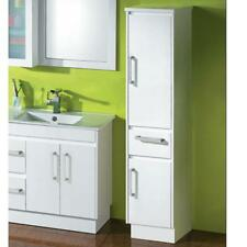 Bathroom Solid Door and Drawer Tall Boy Cabinet 400*410*1800mm
