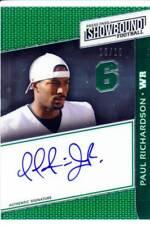 paul richardson rookie draft auto autograph colorado buffaloes cu college 10/10