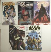 Marvel Star Wars TPB Lot of 5 Softback Graphic Novel All New Free Shipping