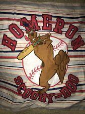 Scooby Doo Baseball Twin Standard Pillow Case Licensed Sports Linens Homerun