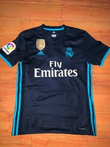 *** Real Madrid Short Sleeve Jersey - Number 7 Ronaldo size Mens Small Climacool