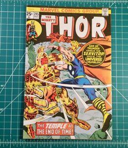 THOR #245 (1976) 1st App He Who Remains Vol. 1 Marvel Loki Disney+ Kang ⚡SALE