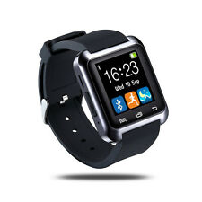 U80 Smart Watch for Android Smartphones& iPhone Support Sync Call Messager*Black