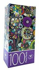 Floral Doodles 100 Piece Jigsaw Puzzle