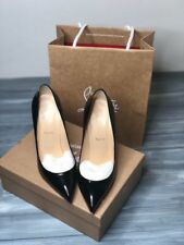 Christian Louboutin Pigalle 120 Black Patent 41