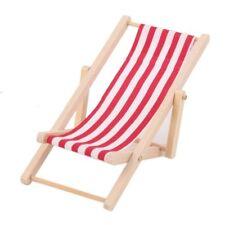 Muñecas tumbona para tomar el sol tumbona de playa silla relax tumbona muebles casa de muñecas, nº 1303