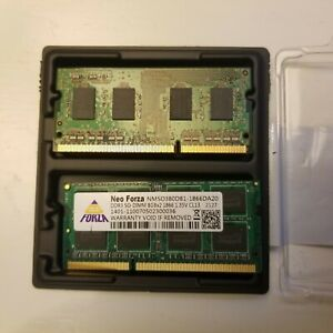 Neo Forza  8GB × 1 DDR3L-1866 PC3L-14900 CL13 and Native Asus 4 GB RAM