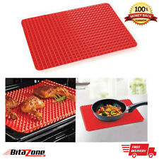 Silicone Baking Mat Sheet Pyramid Pan Non Stick Oven Tray BPA free