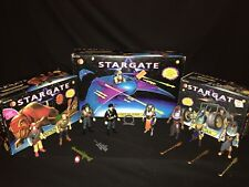 1994 Kenner Toy STARGATE Movie - 8 figures & 3 vehicles Lot Complete