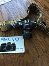 Minolta XD - 11 SLR System Camera