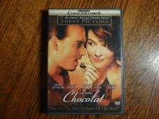 Chocolat (DVD, 2001 Collector's Series) New Condition