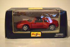 Maisto Ferrari 348 TS 1:24 Scale Red Die-cast Model Car FREE SHIPPING