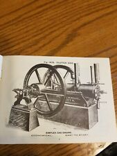 Simplex Gas Engine Oil Well Supply Company Hittmiss Friction Clutch Reprint