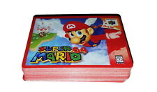 deck of Super Mario 64 N64 Nintendo Poker Size Playing Cards UNUSED RARE