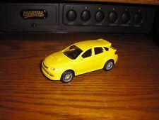 "Diecast 1/43 ? 4"" Long Subaru WRX STi ? Sport Forester Wagon Yellow Free Ship"