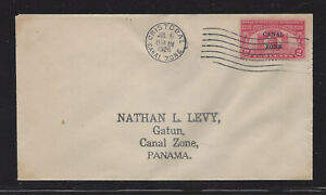 CANAL ZONE 96 2c LIBERTY BELL FIRST DAY COVER CRISTOBAL CANCELLATION