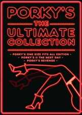 Porky's: The Ultimate Collection 1 2 & 3 Complete Box Set | New | Sealed | DVD