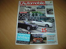 L'automobile N°770 Ford Focus RS500.Dossier Cabriolet.Ferrari 599 GTO.Volvo S60