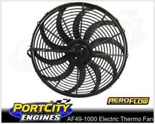 """Aeroflow Electric Cooling Thermo Fan 10"""" Curved Blade Reversible AF49-1000"""