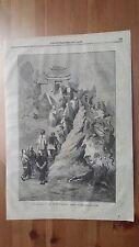 1873 Illustrazione Popolare: Arti La Via del Paradiso quadro d'una pagoda cinese