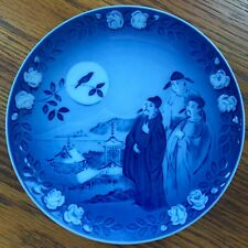 Royal Copenhagen Hans Christian Anderson's Plate, Oh how beautiful is the nighti