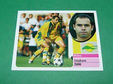 STEPHANE ZIANI FC NANTES FCNA CANARIS PANINI FOOT 2003 FOOTBALL 2002-2003