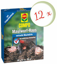 Sparset: 12 X Compo Maulwurf-Raus, 2 x 50 Outil